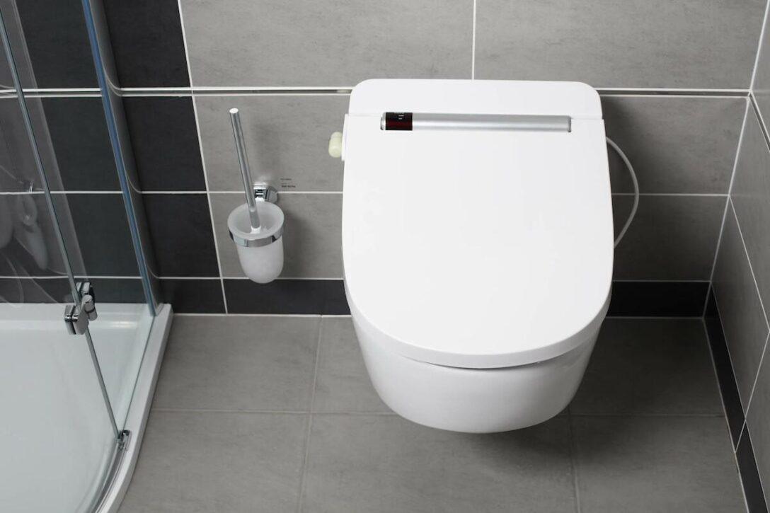 Large Size of Vovo Vb4100s Dusch Wc Aufsatz Mit Edelstahldsen Badewanne Tür Und Dusche Einbauen Begehbare Duschen Anal Schiebetür Unterputz Armatur Bodengleiche Dusche Dusch Wc Aufsatz