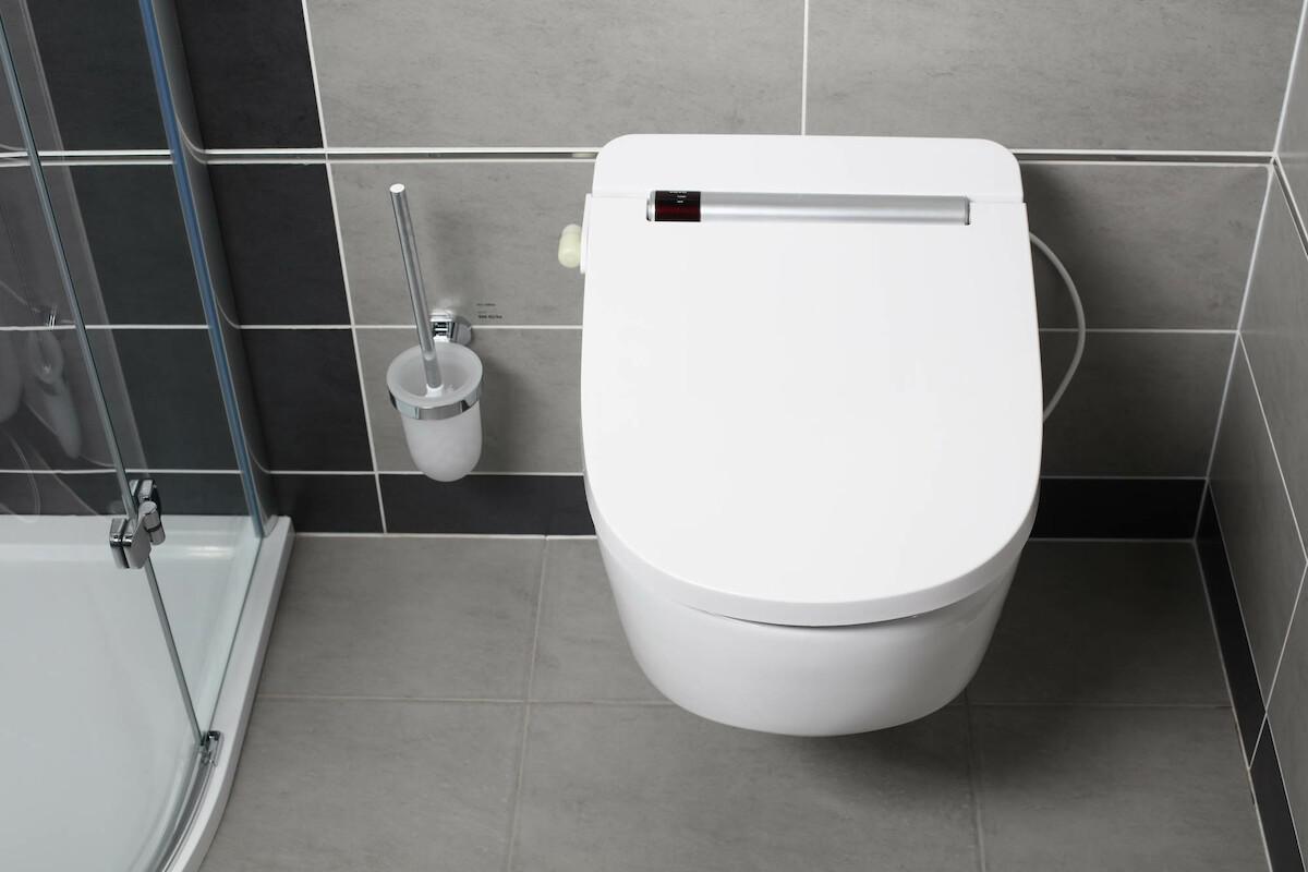 Full Size of Vovo Vb4100s Dusch Wc Aufsatz Mit Edelstahldsen Badewanne Tür Und Dusche Einbauen Begehbare Duschen Anal Schiebetür Unterputz Armatur Bodengleiche Dusche Dusch Wc Aufsatz