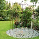Gartenpavillon Metall Wohnzimmer Gartenpavillon Metall Rosenpavillon 270 Hhe Rankhilfe Rankgitter Regale Bett Regal Weiß