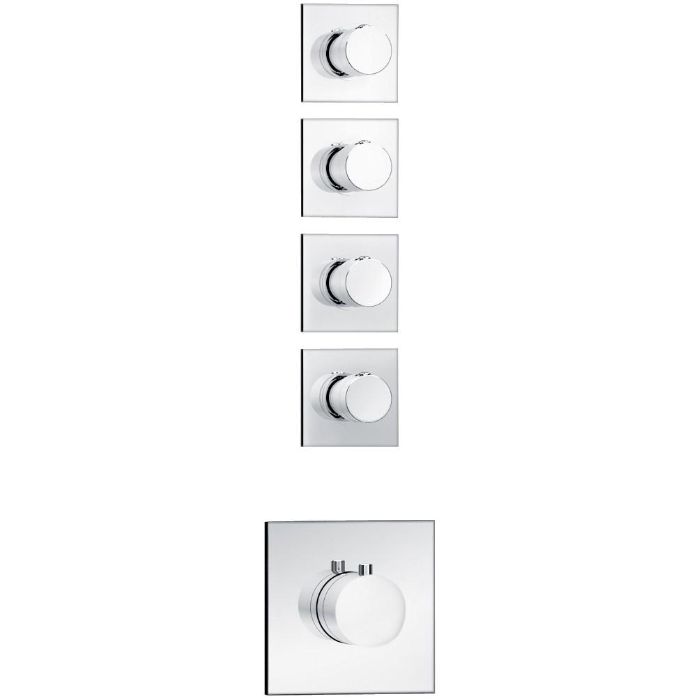Full Size of Soho 4 Wege Unterputz Thermostat Armatur Wunderbad Anal Dusche Pendeltür Hüppe Badewanne Mit Ebenerdige Komplett Set Grohe Glaswand Mischbatterie Begehbare Dusche Thermostat Dusche