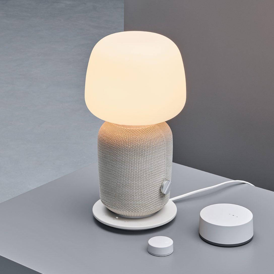 Large Size of Ikea Symfonisk Sonos Lautsprecher Mit Airplay 2 Ab 99 Euro Lampen Schlafzimmer Esstisch Deckenlampen Für Wohnzimmer Badezimmer Küche Kaufen Kosten Wohnzimmer Ikea Lampen