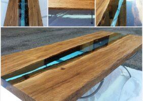 Esstisch Holzplatte