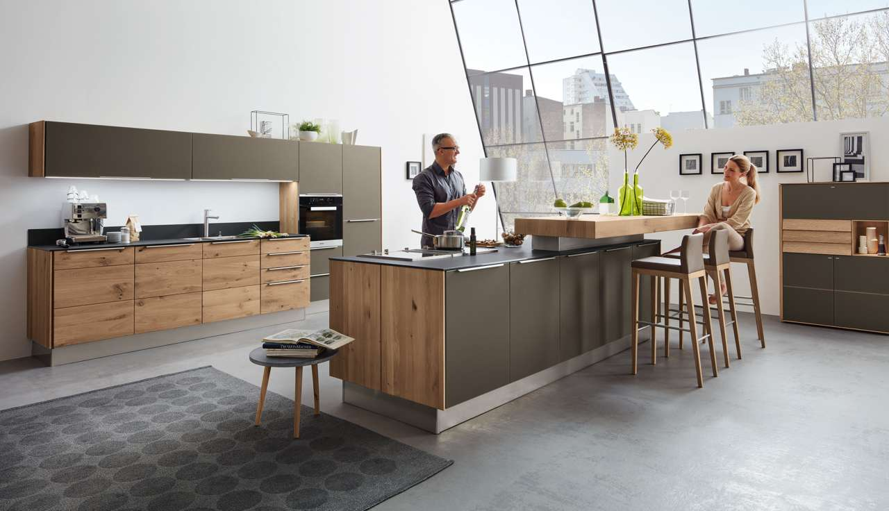 Full Size of Holzküchen So Werden Massivholzkchen Richtig Gepflegt Kchen Journal Wohnzimmer Holzküchen