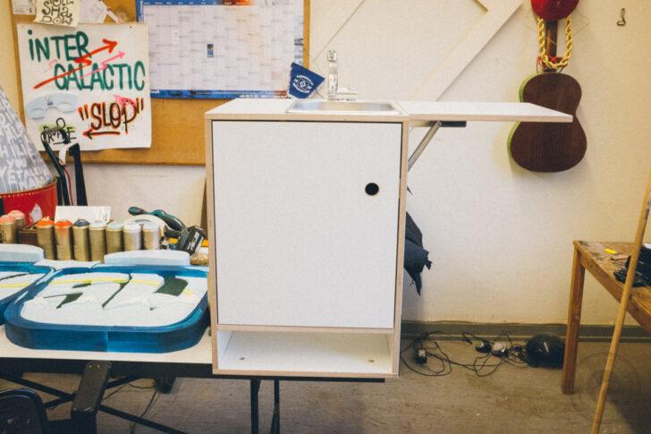 Medium Size of Ghostbastlers Vw Bus Kchenblock Deckenleuchten Küche Griffe U Form Mit E Geräten Günstig Kaufen Single Freistehende Schmales Regal Sprüche Für Die Wohnzimmer Küche Selber Bauen