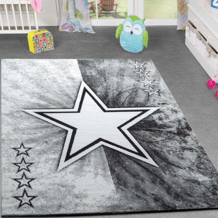 Teppich Jugend Modern Stern Design Kinderzimmer Regal Regale Sofa Weiß Kinderzimmer Teppichboden Kinderzimmer