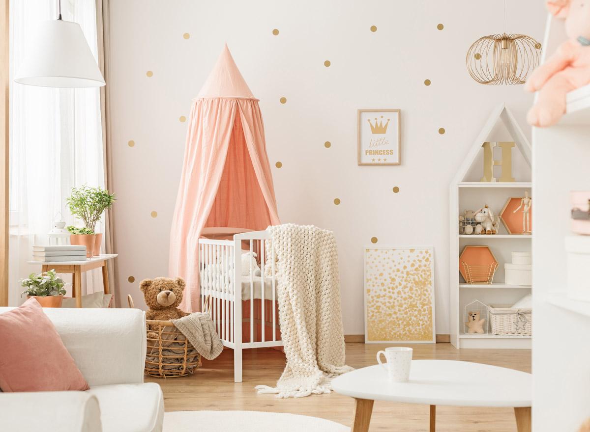 Full Size of Kinderzimmer Einrichtung Babyzimmer Richtige Farbgestaltung Fr Einen Guten Start Ins Regal Sofa Weiß Regale Kinderzimmer Kinderzimmer Einrichtung