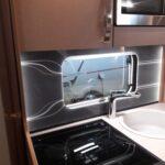 Küchenwand Wohnzimmer Küchenwand Selbstbau Einer Beleuchteten Wohnwagen Kchenrckwand Happy
