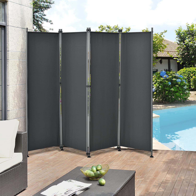 Full Size of Paravent Outdoor Protec Trennwand 170 215cm Sichtschutz Küche Kaufen Garten Edelstahl Wohnzimmer Paravent Outdoor