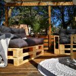 Terrassen Lounge Wohnzimmer Terrassen Lounge Garten Möbel Sessel Set Sofa Loungemöbel Holz Günstig