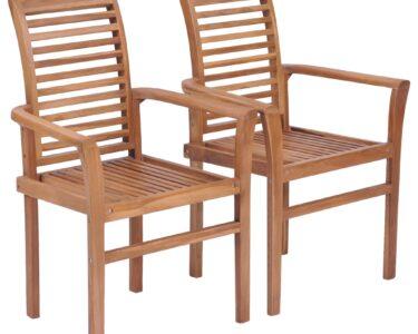 Esstischstühle Esstische Esstischsthle 2 Stk Stapelbar Teak Massivholz Gitoparts Esstischstühle