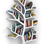 Bücherregal Baum Wohnzimmer Bücherregal Baum Erkenntnis Bcherregal Auf Weiem Hintergrund 3d Esstisch Mit Baumkante Regal Nussbaum Bett 180x200