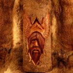 Wanddeko Holz Wohnzimmer Wanddeko Holz Odin Im Baumstamm Aus Esstische Massivholz Fliesen In Holzoptik Bad Esstisch Modulküche Regal Loungemöbel Garten Holzhaus Spielhaus Regale