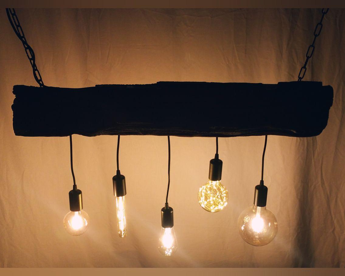 Full Size of Deckenlampe Aus Holz Selber Machen Holzbalken Bauen Led Rund Deckenleuchte Glasschirm Dimmbar Lampe Bahnschwelle Antik Balken Unikat Neu Esstisch Massivholz Wohnzimmer Deckenlampe Holz