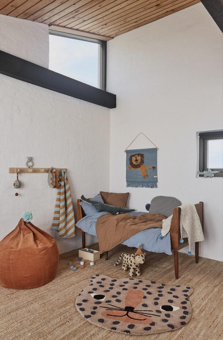 Medium Size of Kinderzimmer Wanddeko Oyoy Wandteppich Lwe Rauchblau Senfgelb 52x55cm Regal Regale Sofa Küche Weiß Kinderzimmer Kinderzimmer Wanddeko