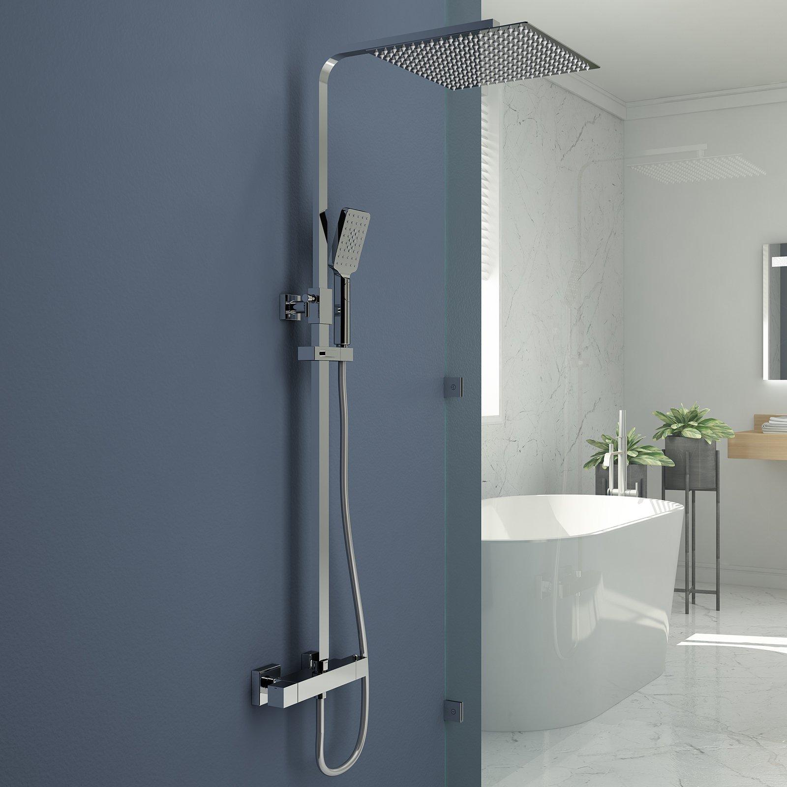 Full Size of Rainshower Dusche Duschsystem Mit Thermostat Duscharmatur Duschset Siphon Ebenerdige Haltegriff Mischbatterie Kosten Begehbare Ohne Tür Bidet Hüppe Walk In Dusche Rainshower Dusche