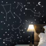 Dekoration Starsleep Ihr Sternenhimmel Mit Leuchtpigmente Fr Regale Kinderzimmer Regal Weiß Sofa Kinderzimmer Sternenhimmel Kinderzimmer