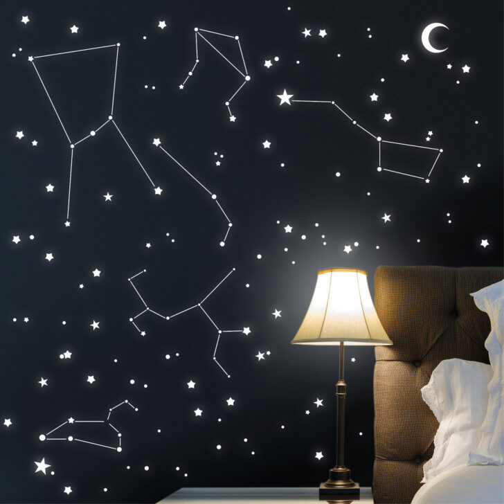 Medium Size of Dekoration Starsleep Ihr Sternenhimmel Mit Leuchtpigmente Fr Regale Kinderzimmer Regal Weiß Sofa Kinderzimmer Sternenhimmel Kinderzimmer