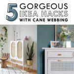 5 Amazing Ikea Hacks With Cane Webbing Betten Bei Sofa Mit Schlaffunktion Miniküche Küche Kaufen 160x200 Kosten Modulküche Wohnzimmer Ikea Hacks