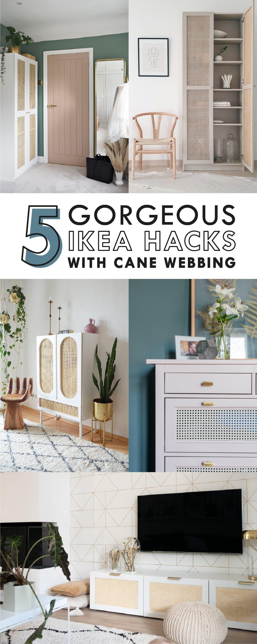Full Size of 5 Amazing Ikea Hacks With Cane Webbing Betten Bei Sofa Mit Schlaffunktion Miniküche Küche Kaufen 160x200 Kosten Modulküche Wohnzimmer Ikea Hacks