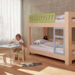 Kinderzimmer Hochbett Kinderzimmer Kinderzimmer Hochbett Lullaby Von Blueroom Mitwachsendes Kinderbett Design Regal Sofa Weiß Regale