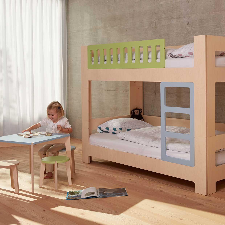 Full Size of Kinderzimmer Hochbett Lullaby Von Blueroom Mitwachsendes Kinderbett Design Regal Sofa Weiß Regale Kinderzimmer Kinderzimmer Hochbett