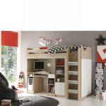 Kinderzimmer Mit Hochbett Unit Eiche Sonoma Nb Wei Inkl Schreibtisch Bett Badezimmer Spiegelschrank Beleuchtung Betten Aufbewahrung Einbauküche E Geräten Kinderzimmer Kinderzimmer Mit Hochbett