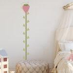 Messlatte Kinderzimmer Kinderzimmer Messlatte Erdbeere Wandmotiv Fr Das Kinderzimmer Regal Regale Sofa Weiß