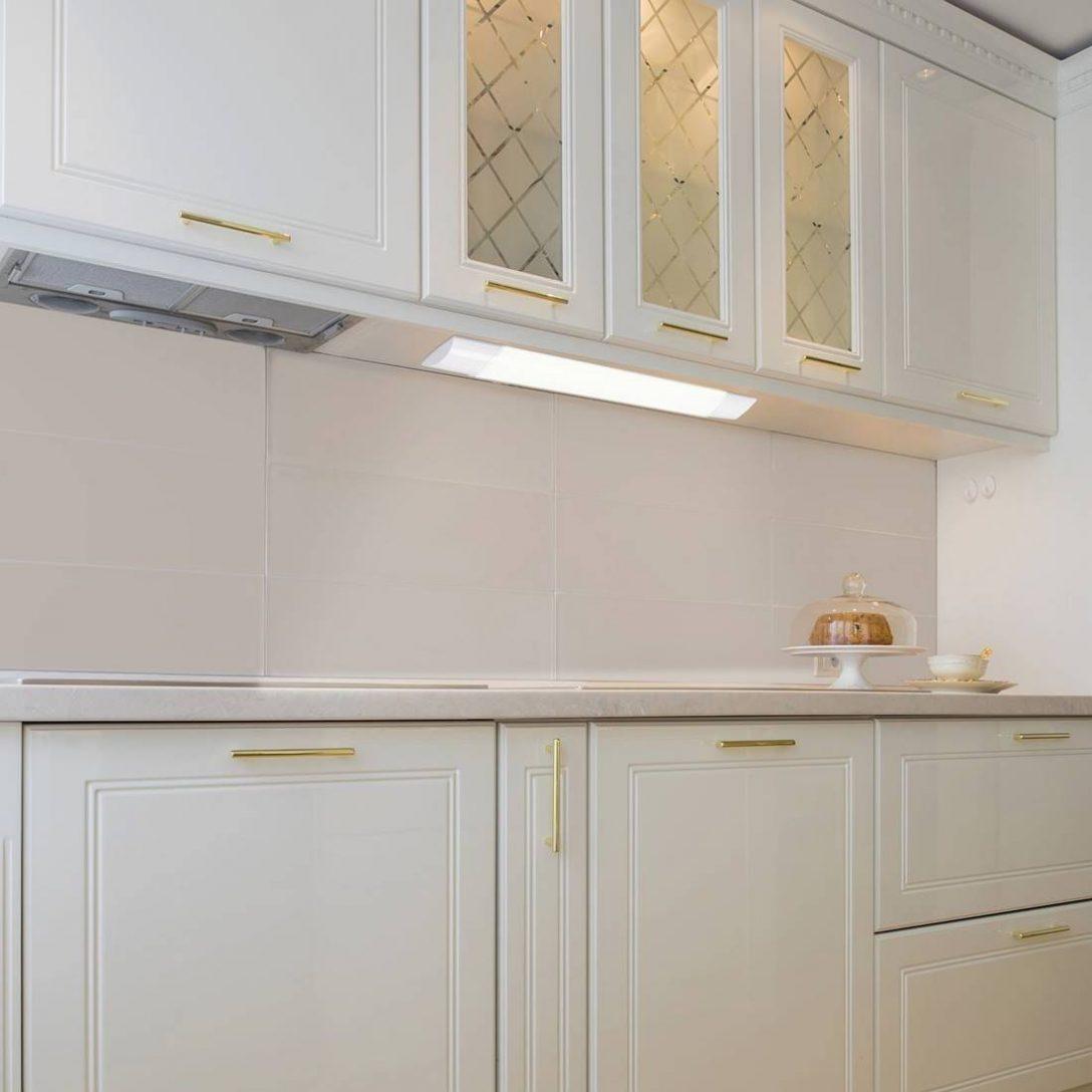 Large Size of Küchenleuchte Kchenleuchte Led Batten Light Kunststoff Wei L2 Wohnzimmer Küchenleuchte