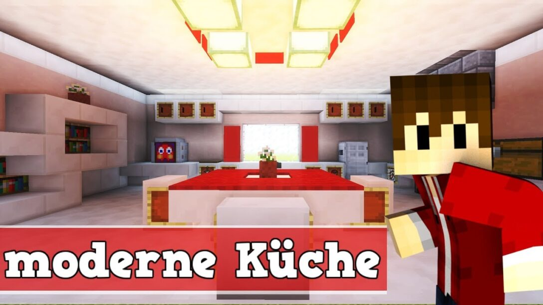 Large Size of Wie Baut Man Eine Moderne Kche In Minecraft Regal Küche Kurzzeitmesser Abfallbehälter Bartisch Mit Theke Erweitern Weisse Landhausküche Wanduhr Wohnzimmer Minecraft Küche