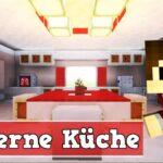 Wie Baut Man Eine Moderne Kche In Minecraft Regal Küche Kurzzeitmesser Abfallbehälter Bartisch Mit Theke Erweitern Weisse Landhausküche Wanduhr Wohnzimmer Minecraft Küche