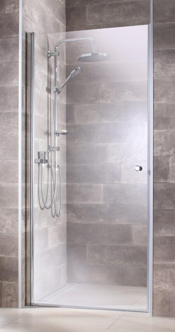 Medium Size of Nischentür Dusche Nische Badkamer En Vloer Beton Cire Pebble Floor Begehbare Badewanne Mit Tür Und Bodengleiche Nachträglich Einbauen Grohe Thermostat Dusche Nischentür Dusche