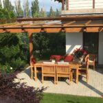 Pergola Holz Modern Bausatz Dachterrasse Garten Selber Bauen Bauhaus Aus Selbst Exklusive Gartenpergolen Gartenlauben Pergolen Esstisch Holzplatte Esstische Wohnzimmer Pergola Holz