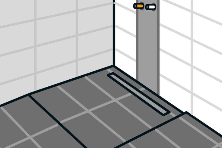 Medium Size of Ebenerdige Dusche Bodengleiche Einbauen Linienentwsserung Anleitung Von Fliesen Für Bluetooth Lautsprecher Antirutschmatte Glastür Grohe Koralle Raindance Dusche Ebenerdige Dusche