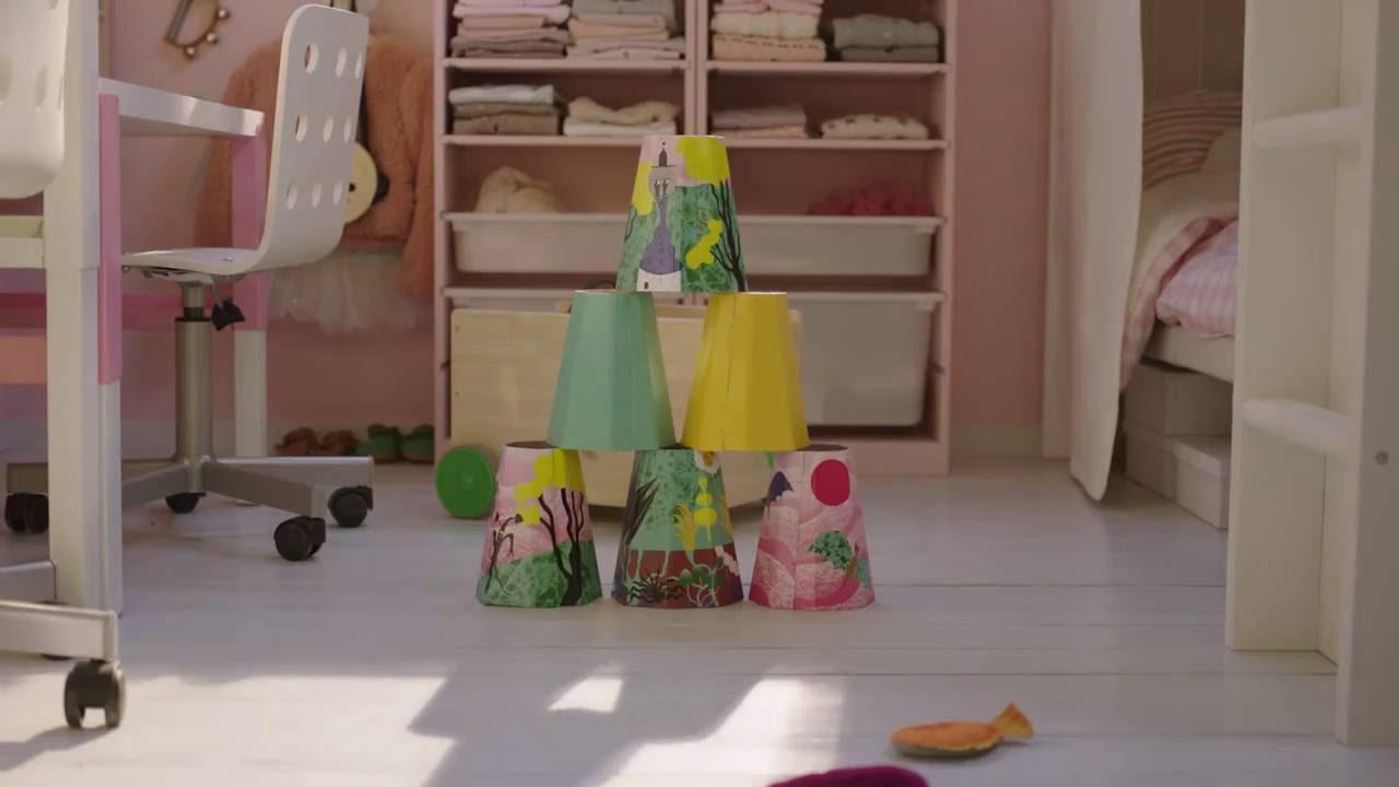 Full Size of Einrichtung Kinderzimmer Ikea Quadratmeterchallenge Kleines Einrichten Youtube Regal Regale Sofa Weiß Kinderzimmer Einrichtung Kinderzimmer