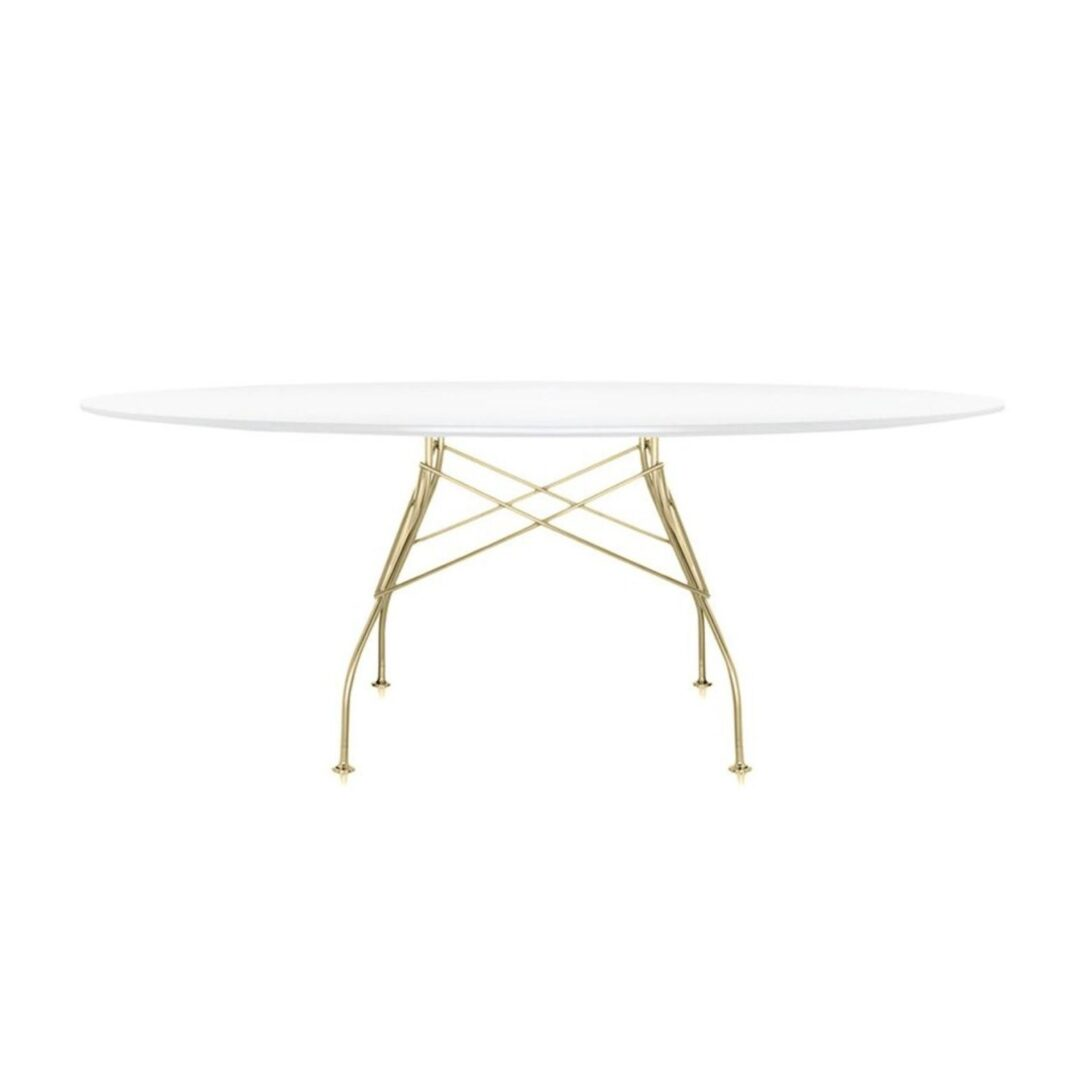 Large Size of Kartell Glossy Tisch Oval Gestell Gold Ambientedirect Bad Regal Weiß Bett Schwarz Esstisch Eiche Massiv Weiss Esstische Rund Musterring Weißes Kleiner Esstische Esstisch Weiß Oval
