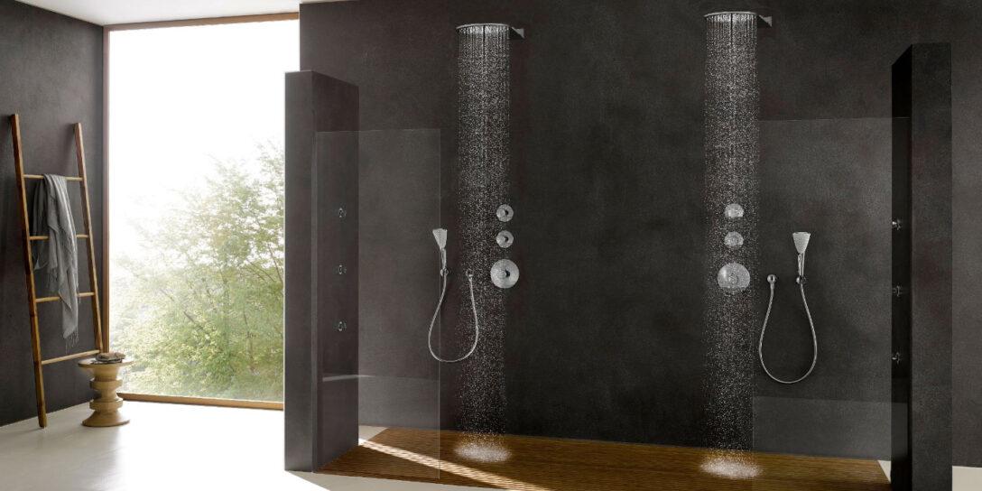 Large Size of Glasabtrennung Dusche Komfortabel Duschen Purer Genuss In Ihrer Modernen Hüppe Antirutschmatte Barrierefreie Wand Sprinz Glaswand Abfluss Anal Raindance Dusche Glasabtrennung Dusche