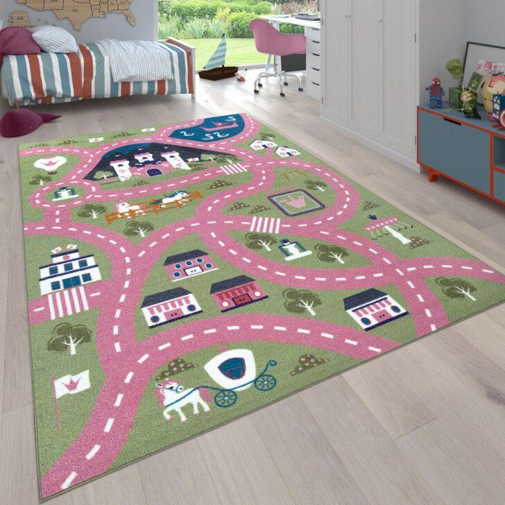 Medium Size of Teppich Stadt Motiv Ponys Grn Rosa Teppichcenter24 Wohnzimmer Teppiche Regale Kinderzimmer Regal Sofa Weiß Kinderzimmer Teppiche Kinderzimmer