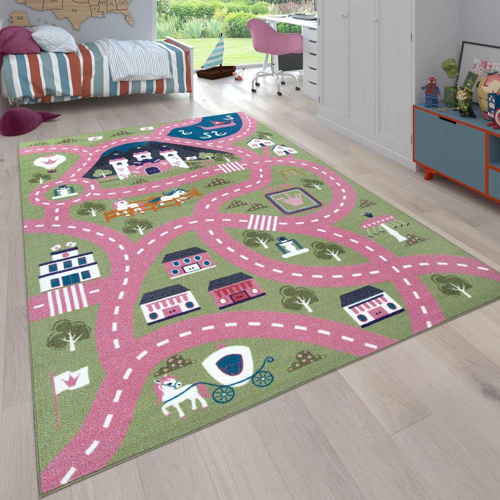 Full Size of Teppich Stadt Motiv Ponys Grn Rosa Teppichcenter24 Wohnzimmer Teppiche Regale Kinderzimmer Regal Sofa Weiß Kinderzimmer Teppiche Kinderzimmer