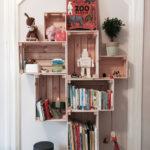 Diy Das Perfekte Regal Im Kinderzimmer Regale Weiß Sofa Kinderzimmer Kinderzimmer Bücherregal