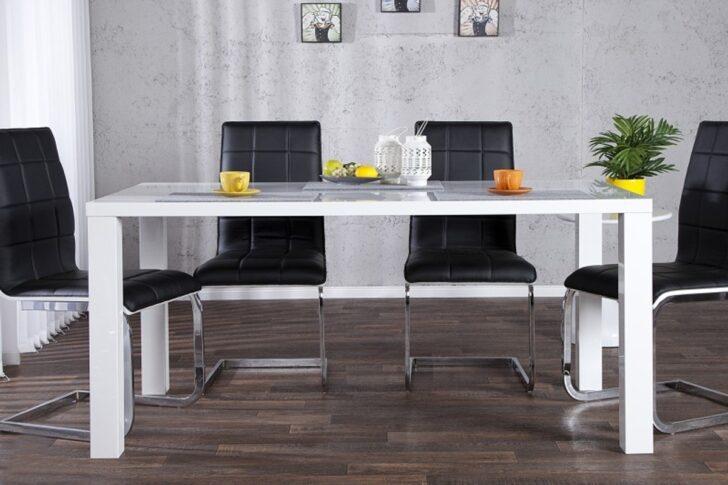 Moderner Design Esstisch Wei Hochglanz 140 Cm Von Casa Padrino Moderne Duschen Modernes Sofa Esstische Massivholz Deckenleuchte Wohnzimmer Holz Bett Esstische Moderne Esstische