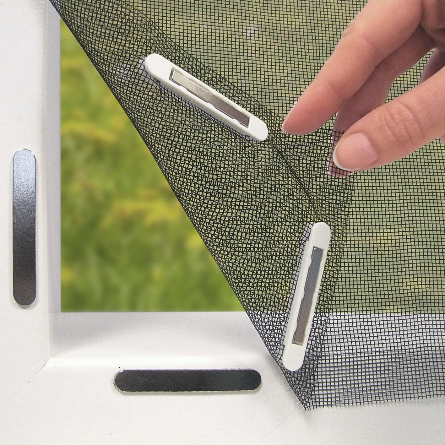 Full Size of Moskitonetz Fr Tren 90 210 Cm Fliegengitter Fenster Für Maßanfertigung Magnettafel Küche Wohnzimmer Fliegengitter Magnet