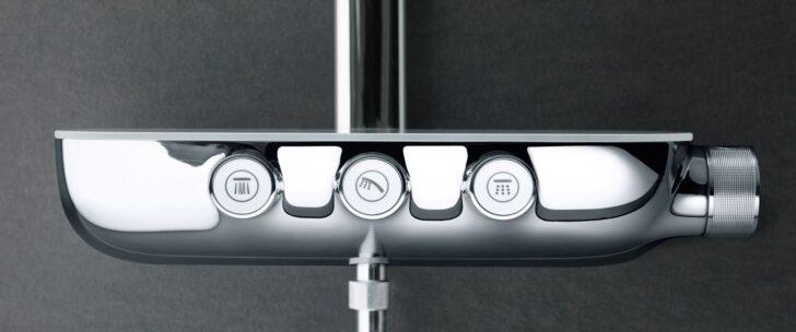 Medium Size of Unterputz Armatur Dusche Bodengleiche Walkin Abfluss Barrierefreie Thermostat Mischbatterie Moderne Duschen Badewanne Mit Tür Und Bidet Hüppe 90x90 Dusche Grohe Thermostat Dusche