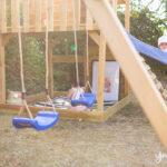 Spielturm Selber Bauen Ein Kletterturm Mit Rutsche Kinderspielturm Garten Fenster Einbauen Kosten Bett Zusammenstellen Regale Neue Küche Rolladen Wohnzimmer Spielturm Selber Bauen