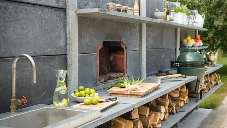 Medium Size of Outdoor Küche Kchen Trend Kochen Im Freien Streifzug Media Billig Rückwand Glas Einbauküche Günstig Vorratsdosen Kaufen Ikea Stehhilfe Bank Anthrazit Wohnzimmer Outdoor Küche
