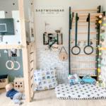 Sprossenwand Kinderzimmer Kinderzimmer Kinderzimmer Regal Sofa Regale Weiß