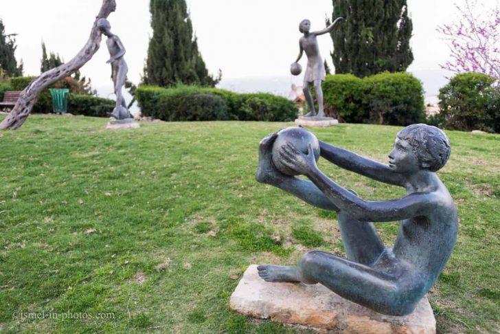 Medium Size of Skulpturen Für Den Garten Ursula Malbins Sculpture Garden In Haifa Reisen Israel Laminat Küche Hotel Baden Insektenschutz Fenster Spielgeräte Fsj Wohnzimmer Skulpturen Für Den Garten