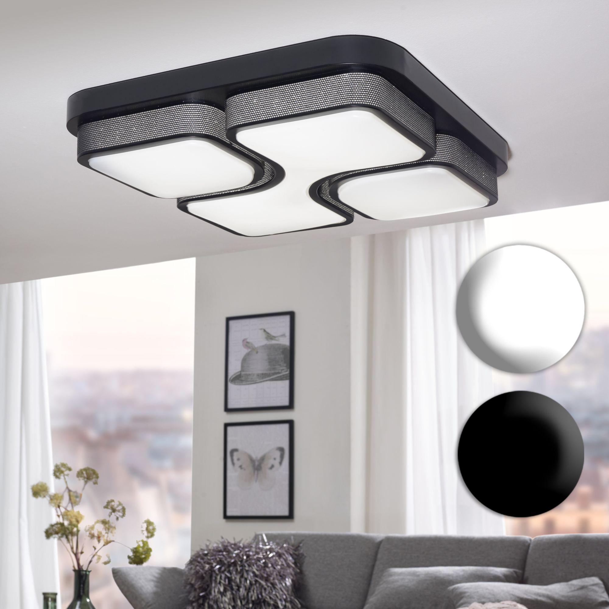 Full Size of Lampen Wohnzimmer Finebuy Led Deckenlampe 32w Lampe Deckenleuchte A Sessel Komplett Wandbilder Vinylboden Deckenleuchten Deckenlampen Für Schlafzimmer Wohnzimmer Lampen Wohnzimmer