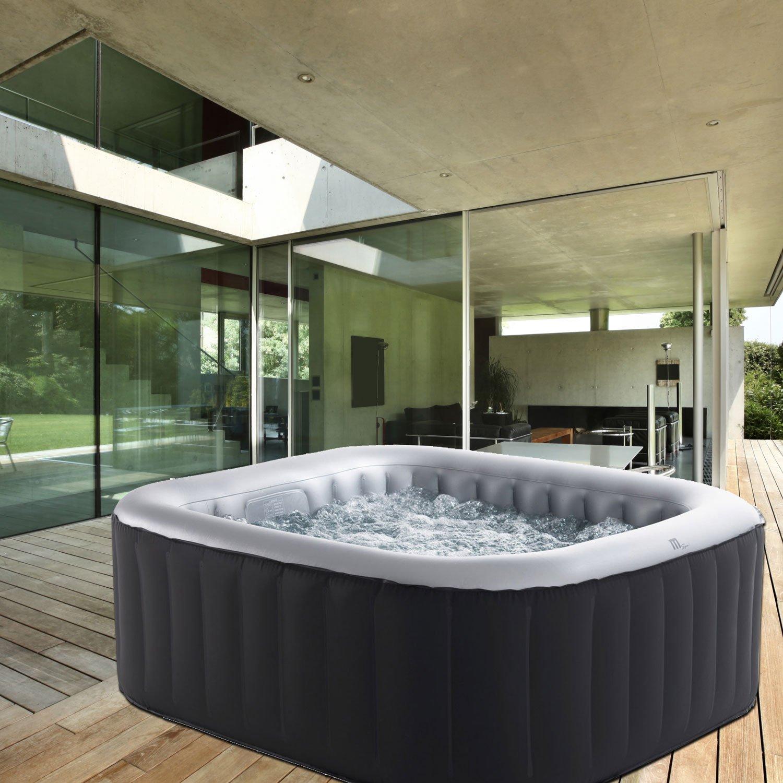Full Size of Whirlpool Aufblasbar Aufblasbare Whirlpools Fr 4 Bis 6 Personen Mit Aufheizfunktion Garten Wohnzimmer Whirlpool Aufblasbar