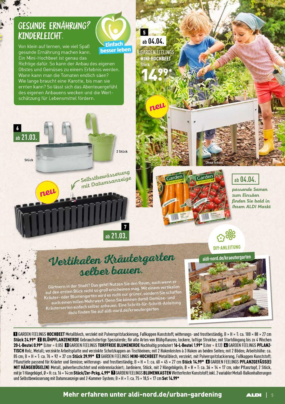 Full Size of Hochbeet Aldi Nord Prospekte Sonnenseiten Magazin Seite No 5 44 Gltig Garten Relaxsessel Wohnzimmer Hochbeet Aldi