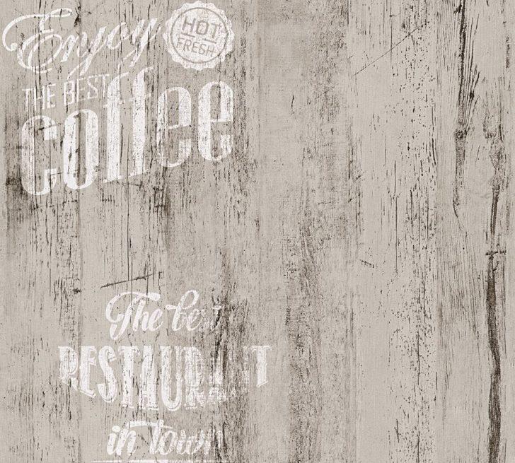 Medium Size of Tapete Coffee Kche Bistro Grau As Creation 33481 4 Freistehende Küche Rolladenschrank Kreidetafel Sideboard Vorratsschrank Vorhänge Mini Mit Geräten Obi Wohnzimmer Küche Tapete